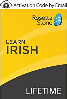 Rosetta Stone: Learn Irish with Lifetime Access on iOS, Android, PC, and Mac [Activation Code by Email]