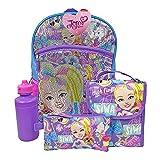 JoJo Siwa Backpack 5 Pc. Set for Girls, 16 in. Sequin Backpack w/ JoJo Lunch Bag & Pencil Case