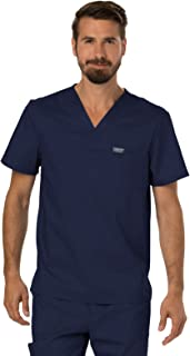 Cherokee Workwear Revolution Mens V-Neck Scrub Top