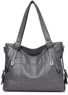 Shoulder bag for women Large-capacity Female Bag Pu Soft Leather Wild Portable Slung Shoulder Bag