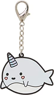 LaurDIY Kawaii Collection Narwhal Purse and Backpack Keychain Charm