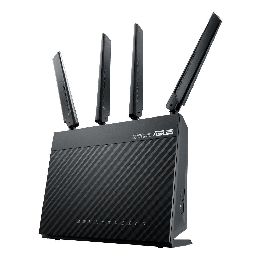 ASUS 4G AC68U AC1900 LTE Modem Router