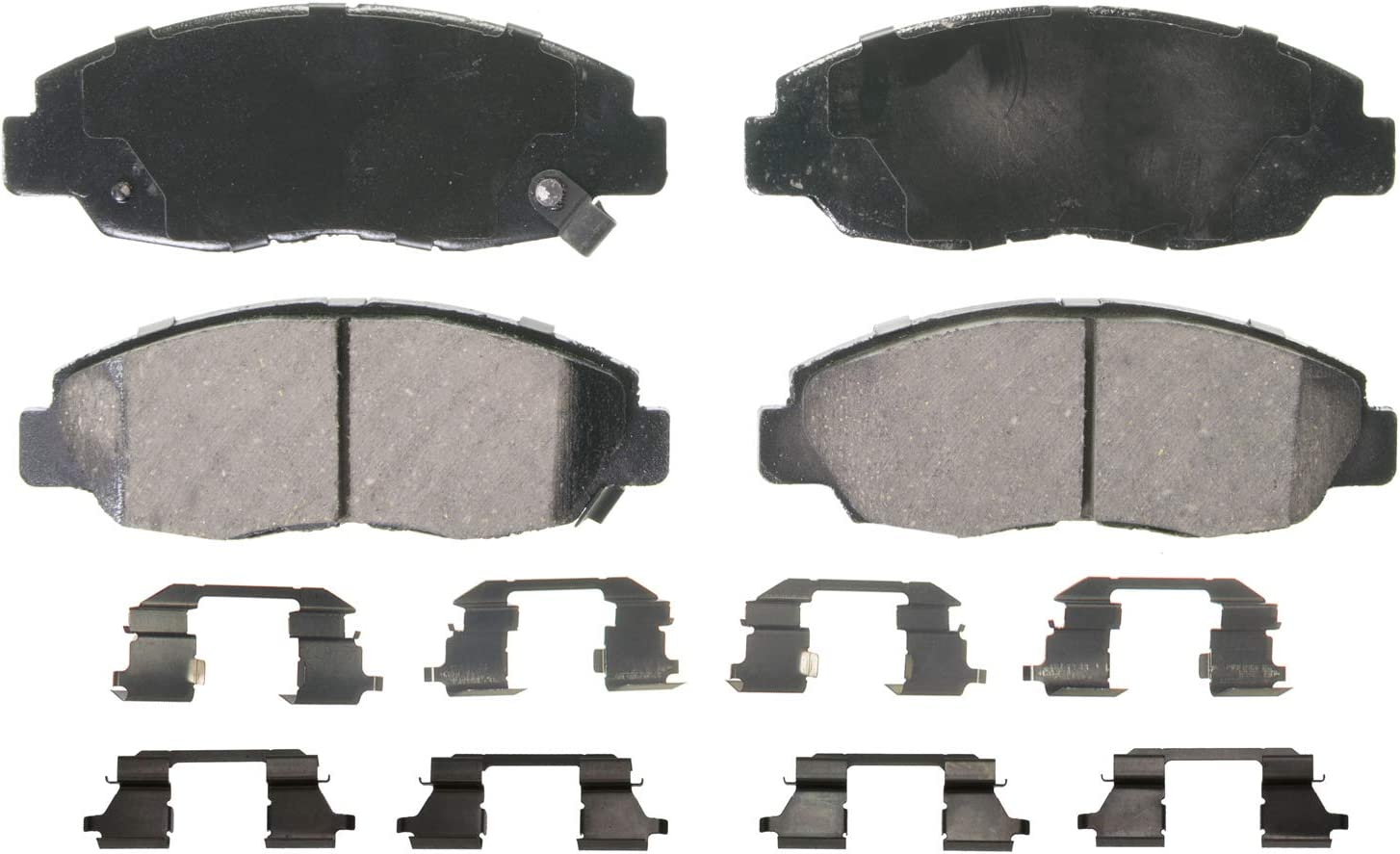 San Antonio Mall Wagner High quality QuickStop ZD764 Ceramic Disc Brake Pad Set