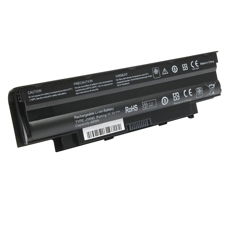 New J1KND 4T7JN TKV2V Replacement Laptop Battery for Dell Inspiron 3420 3520 13R 14R 15R 17R N3010 N4050 N4010 N4110 N5040 N5030 N5050 N5010 N5110 N7010 N7110 M5110 M4110,Fit 04YRJH 07XFJJ 312-0233