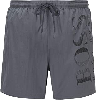 BOSS Womens Octopus Quick-Drying Swim Shorts with Contrast Logo