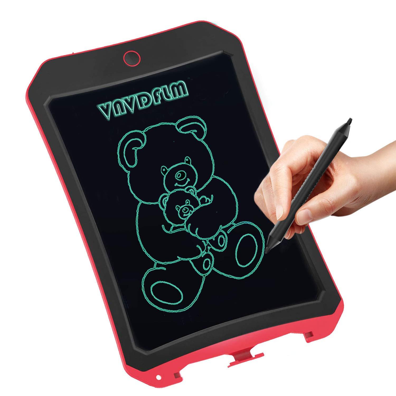 Rosado 8,5 Pulgadas Colorido Dibujo Gr/áficos Electr/ónicos Pad Doodle Escritura Tablero Port/átil Tableta para Ni/ños Adulto Oficina Escuela Hogar NJesBaa Tableta de Escritura LCD