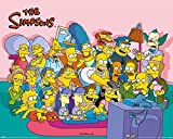 1art1 Die Simpsons - Couch Group Mini-Poster 50 x
