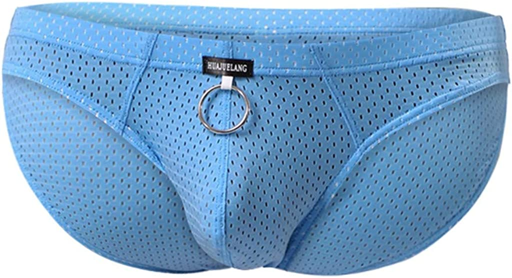 Stoota Fashion Mens Sexy Mesh Underwear, Sport Breathable Brief Shorts Boxer Underpants