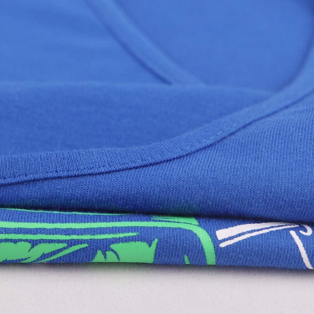 Hombres Culturismo Camiseta sin Mangas Larguero Gimnasio Ejercicio Aptitud Chaleco Algod/ón
