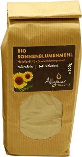 Allgäuer Ölmühle - Allgäuer Bio Sonnenblumenmehl Heliaflor 45 - Sonnenblumenprotein - 500 g