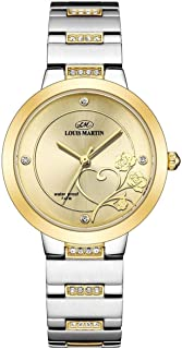 Louis Martin Casual Watch For Women Analog Alloy - lm2125