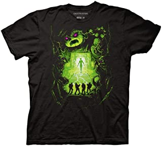 Ripple Junction Ghostbusters Dan Mumford Poster Adult T-Shirt
