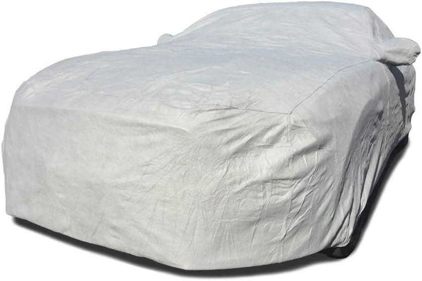 FS16996F5 Fleeced Satin Black Covercraft Custom Fit Car Cover for Select Nissan Altima Models