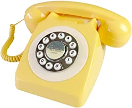 $35 » Corded Retro Phone, TelPal 80's Classic Telephone/Old Fashion Landline Phone/Wired AntiqueTelephone for Home/Office/Hotel