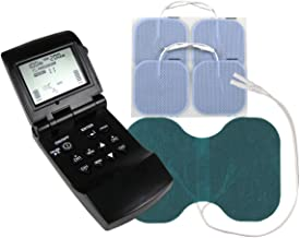 EMS Muscle Stimulator and TENS Combination Unit + Extra Large Electrode – 12 Programs