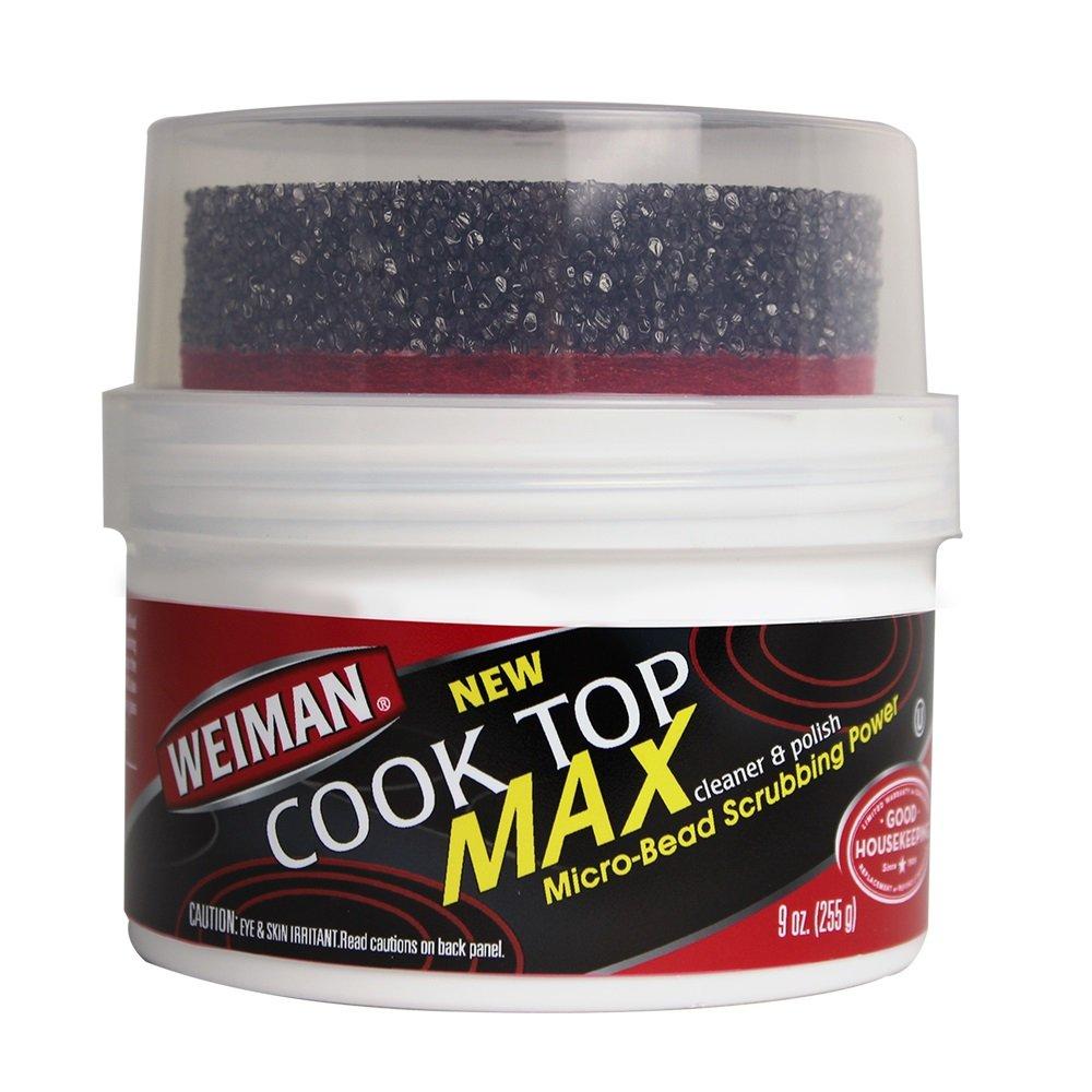 Weiman Cooktop Cleaner Max Burned