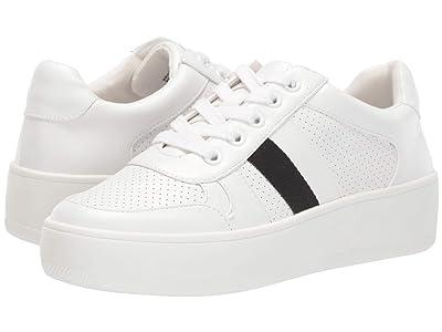 Steve Madden Braden Sneaker (White Multi) Women