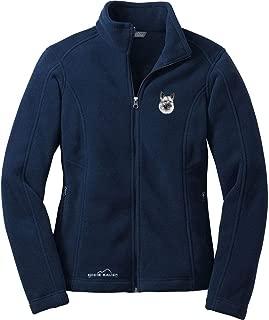 Cherrybrook River Blue Dog Breed Embroidered Ladies Eddie Bauer Fleece Jacket (All Breeds)