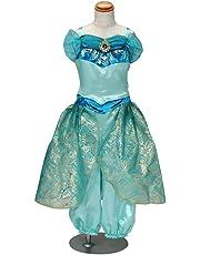【国内販売正規品】ディズニープリンセス ジャスミン姫 おしゃれドレス キッズコスチューム 女の子 100cm-110cm