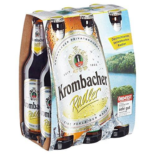 Krombacher Radler MEHRWEG, (6 x 0.33 l)