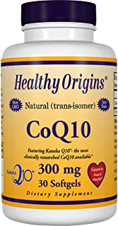 Healthy Origins kaneka COQ10 Gels, 300 Mg, 30 Count