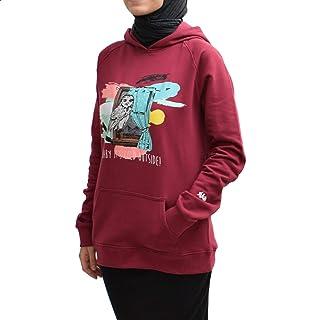 NAS Trends Sweatshirt For Women- Wine