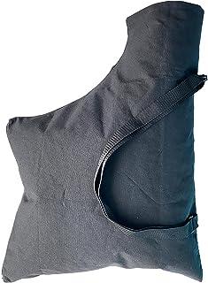 FDKJOK Stofzuigerzak voor bladblazers, zak voor blowerbladeren, zwarte vervanging van bladblazer, bladblazer vacuümzak met...