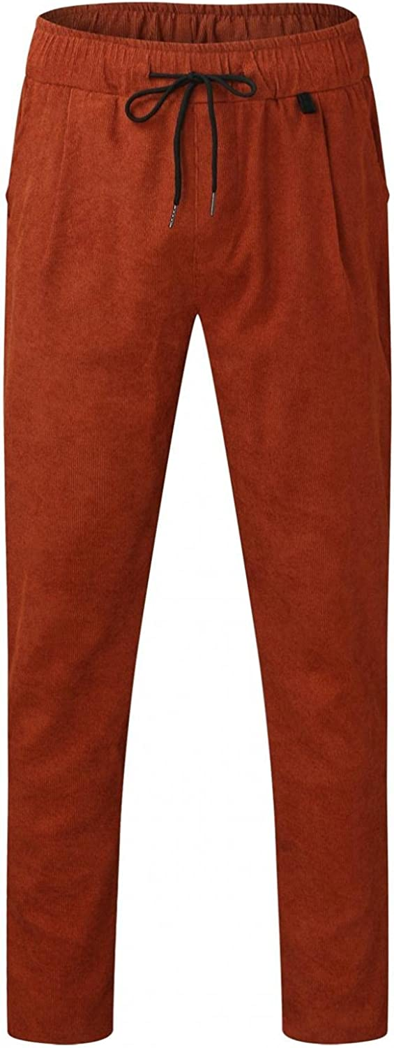 Sweatpants for Men Casual Joggers Athletic Yoga Pants Slim Fit Tapered Running for Men with Pockets