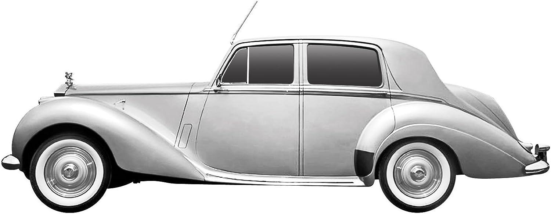Dickie-Schuco 413311020 - True Scale - Rolls Royce Dawn -1949- 1 43 Silber, Resin, silber