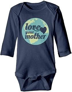FAVIBES Alles was Sie brauchen ist Liebe Mathe Baumwolle Baby Body Playsuit Union Suit Baby Kurzarm Body