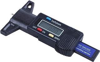 Casinlog Digitale dieptemeter, schuifmaat, profieldieptemeter, lcd-banden, profielmeter