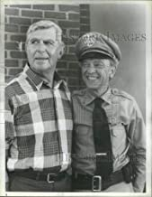 Historic Images - 1986 Press Photo Return to Mayberry Film Actors Griffith Knotts