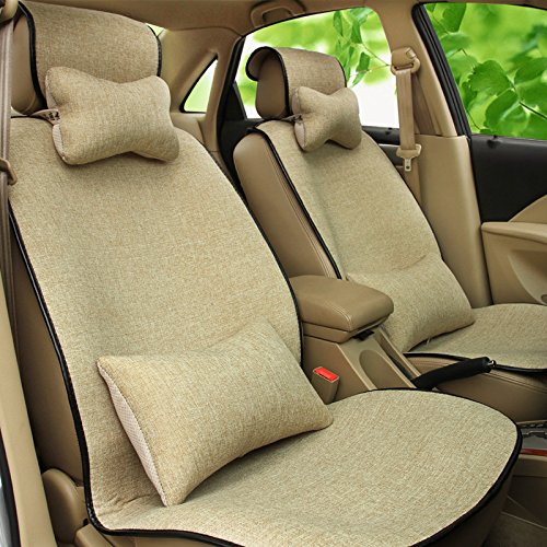 AMYMGLL Coussin de voiture Général Couverture Linge Anti-Slip Unlocked Deluxe (11Réglez) Coussin Édition générale Car Cover options Four Seasons Universal 3 couleurs , 1