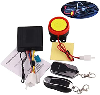 Alician Remote Control Alarm Motorcycle Security System Motorcycle Theft Protection Bike Moto Scooter Motor Alarm System