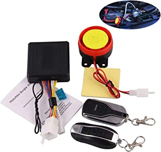 Alician Accessories Remote Control Alarm Motorcycle Security System Motorcycle Theft Protection Bike Moto Scooter Motor Alarm System