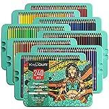 Best Colored Pencil Sets - Kalour Professional Colored Pencils,Set of 240 Colors,Artists Soft Review