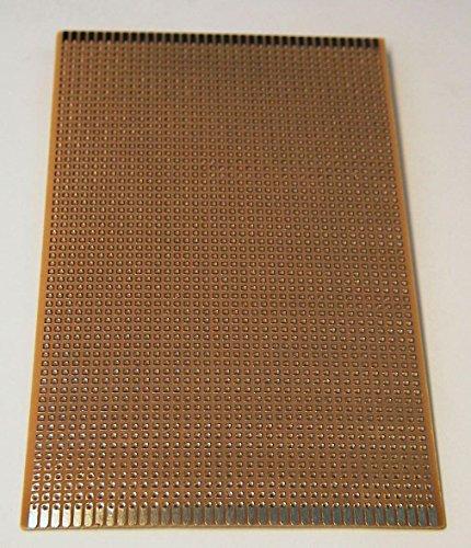 Ett Experimentierplatine, 2,54er-Punktraster, 100x160mm