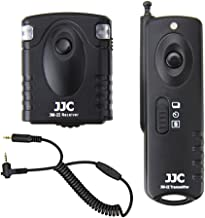 Wireless Shutter Remote Control JJC Remote Shutter Release for Panasonic DMC-G7 DMC-GX7 DMC-GH5 DMC-GH4 DMC-GH3 DMC-G10 DMC-G3 DMC-GH2 DMC-GH1 DMC-FZ200 DMC-FZ20 Leica DIGILUX3 DIGILUX2 V-LUX1 V-LUX2