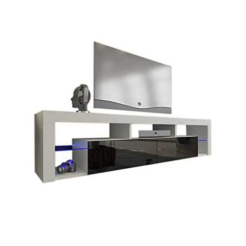 925abb742ff Meble Furniture   Rugs TV Stand Milano 200 LED Wall Mounted Floating 79