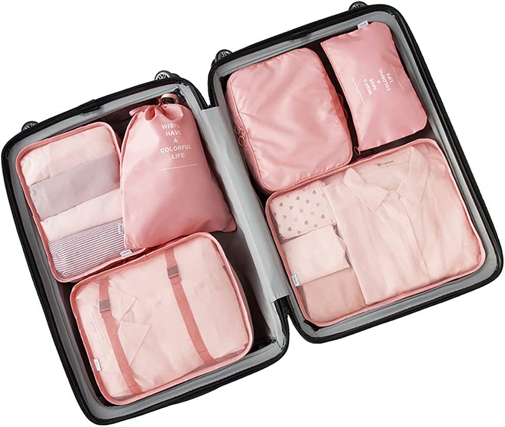 7 Set Travel Storage Bags packing Multi-functional for Inventory cleanup selling sale Over item handling cubes su
