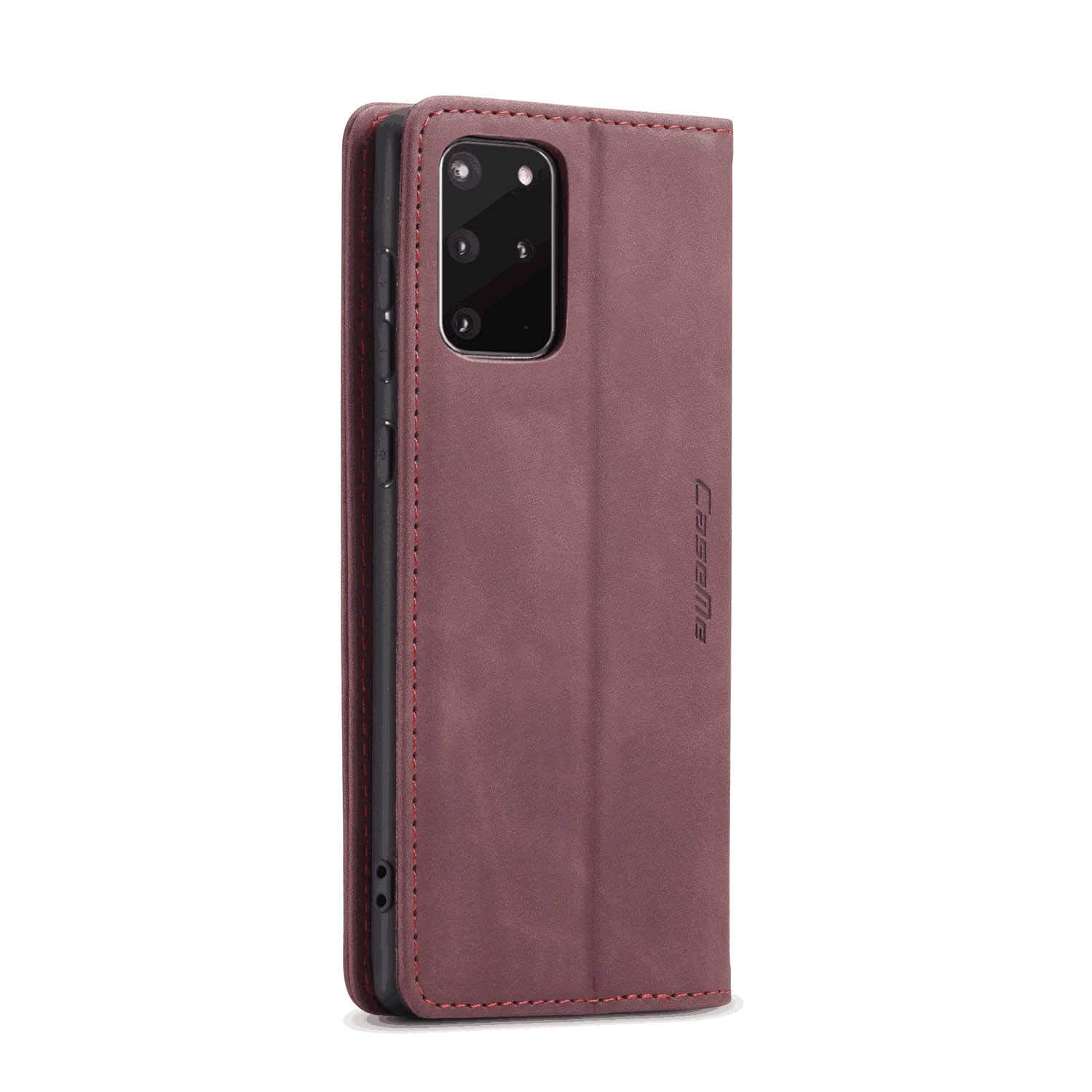 Soft Coffee Wallet Cover for Samsung Galaxy A70 Leather Flip Case Fit for Samsung Galaxy A70