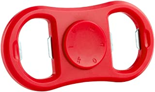 maikou Fidget Toy Bottle Opener Hand Tri-Spinner Gyro EDC Fingertip Focus Toy Kids Adults (Red)