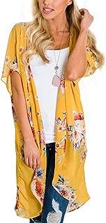 Best yellow kimono jacket Reviews