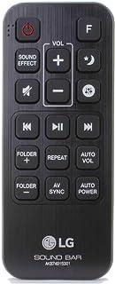 Control Remoto para LG LAS550H 2.1 Ch 320W Soundbar Wireless Subwoofer - con Dos Pilas 121AV AAA Incluidas