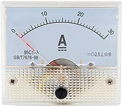 Basico Panneau Analogique De Mesure De Courant CC 5A 10A 20A 30A 50A 100A Amp/èrem/ètres M/écaniques Testeur De Jauge Amp 85C1