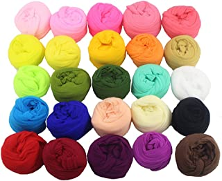 1.5m Nylon Stocking Flower Material Handmade Accessory (20colors/Pack 1pc/Color) (Mixed Colors 1)