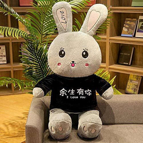 CPFYZH 80Cm-100Cm Conejo de Peluche de Juguete de Peluche Suave Disfraz de Animal de Dibujos Animados mueca de Conejo Regalo de cumpleaos para nios-80Cm_18