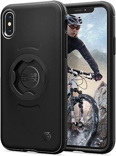 2021 Spigen Gearlock Bike Mount Case Designed for iPhone Xs sale (2018) / Designed for X Case (2017) online sale - Black online