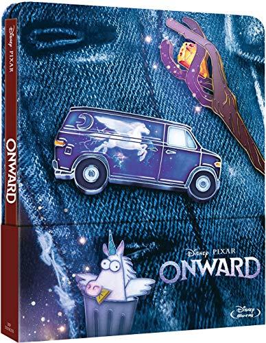 Onward - Steelbook 2 discos (Película + Extras) [Blu-ray] (Blu-ray)