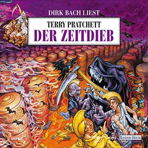 Der Zeitdieb     Ein Scheibenwelt-Roman              By:                                                                                                                                 Terry Pratchett                               Narrated by:                                                                                                                                 Dirk Bach                      Length: 3 hrs and 52 mins     Not rated yet     Overall 0.0